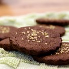 bittersweet chocolate sables