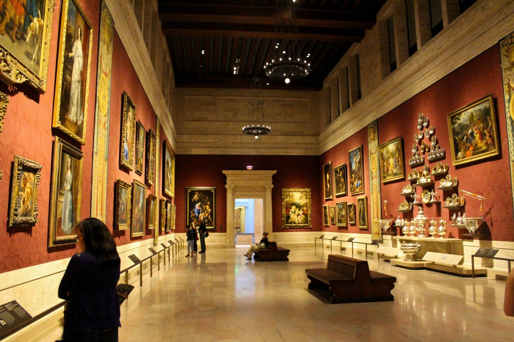 European Renaissance gallery. My favorite area of the wing!