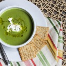 Healthy Spring Pea Soup
