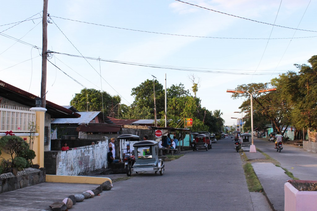 Border of Barangay Lusungan, Orion