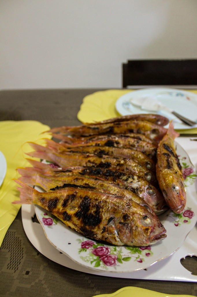 Inihaw na Isda, or Grilled Fish