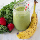 kale fruit shake